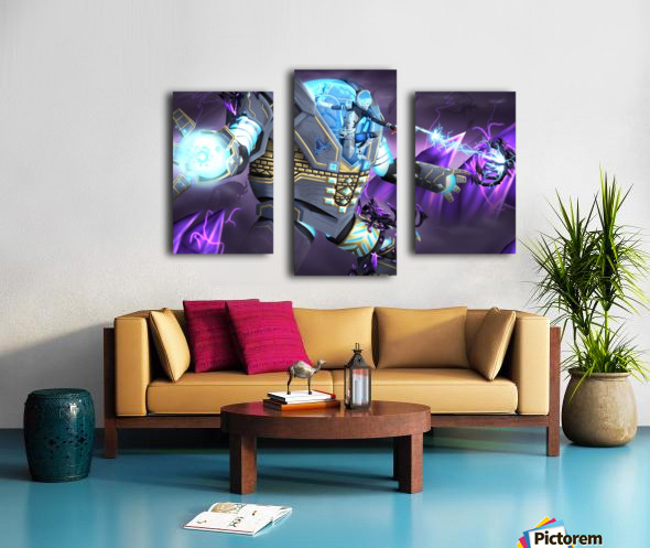 -Power Suit Fall- Canvas print