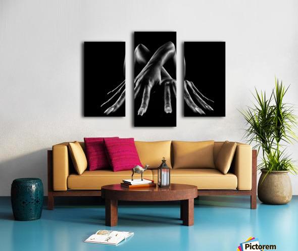 Figurative Body Parts Canvas print