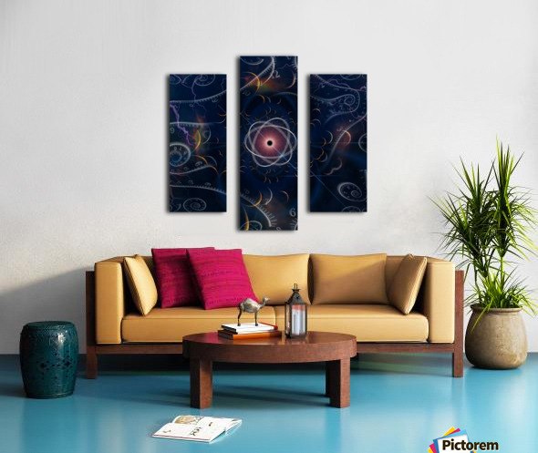 Time and Matter Canvas print