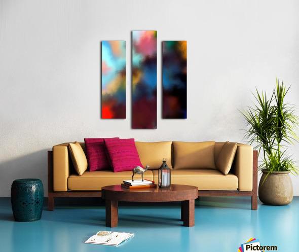 Color Burst - Breathe Canvas print