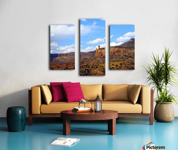 Chimney Rock Ghost Ranch NM  Canvas print