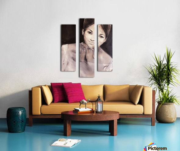 Aretha Impression sur toile