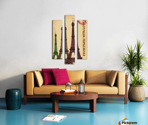 france paris paris france city Canvas print