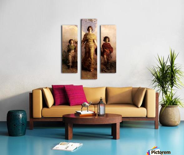 painting artwork art vintage Canvas print