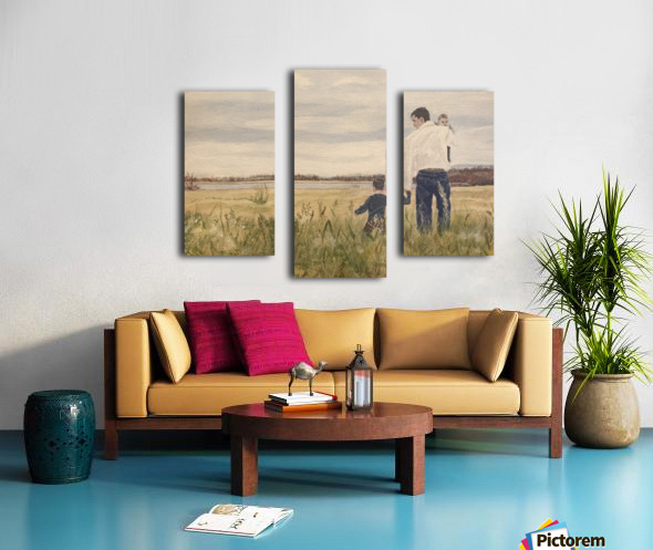 Dads day Canvas print