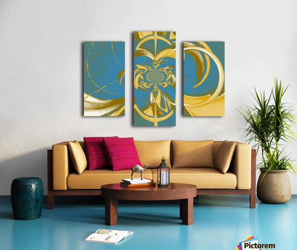 Classic Royal Design Canvas print