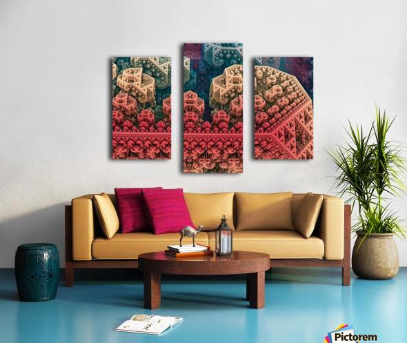 fractals 3d graphics designs   Canvas print