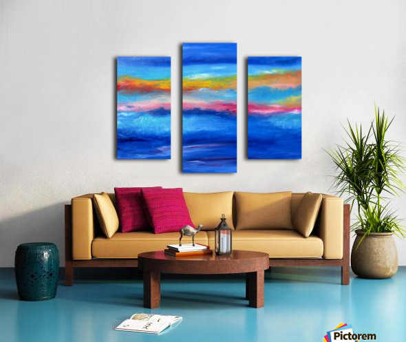 Floating Sky Canvas print