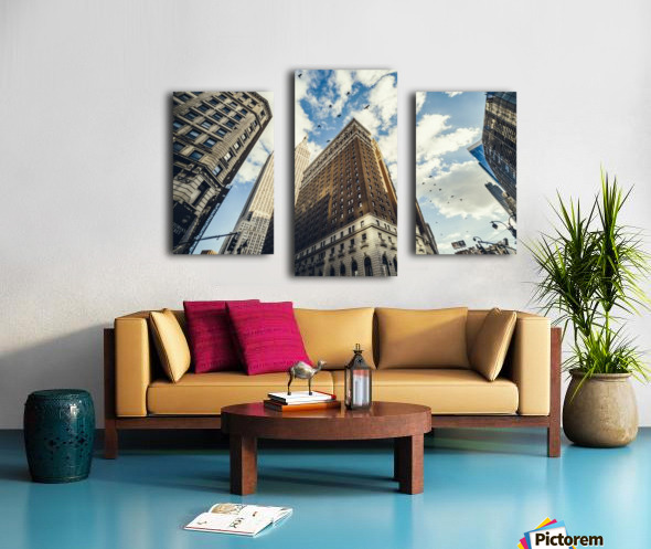 New York Sky Canvas print