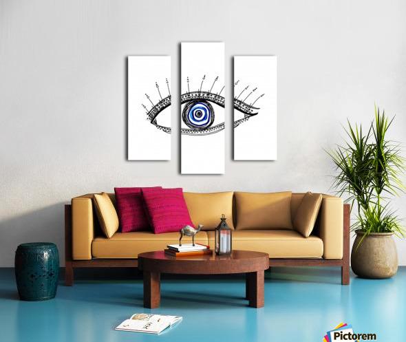 The Eye  12X12 1 1 Canvas print