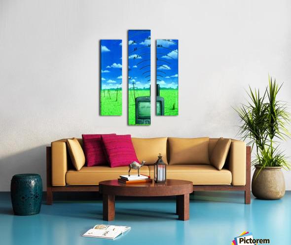 Wireless Canvas print