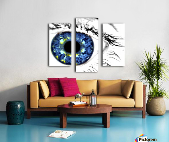 Eye Art 1 Canvas print