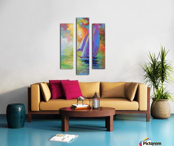 Sailboat Canvas print