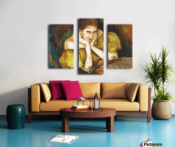 Flirty Girl 2   Canvas print