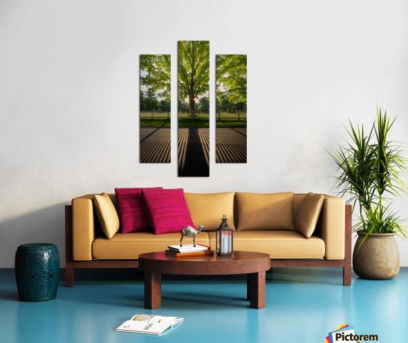 Sunrise in Dunstable Canvas print