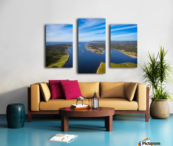 Cheticamp and Beyond Canvas print