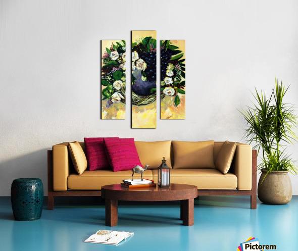 F07 - Bauhinia Variegata Canvas print