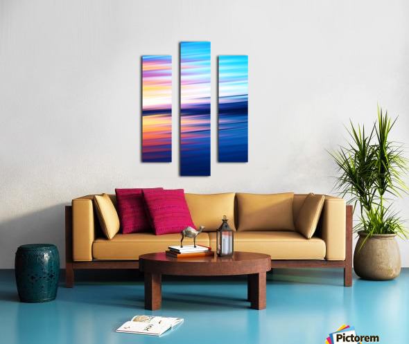 Abstract Sunset XI Canvas print