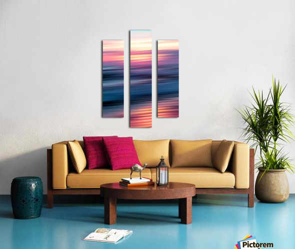 Abstract Sunset XII Canvas print