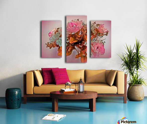Pink Springtime Morning Canvas print