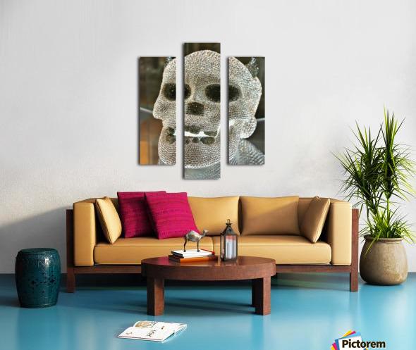 Paris Crystal Skull Canvas print