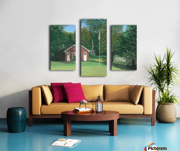 Lands End School - Newtown Scenes 18 X24  Canvas print