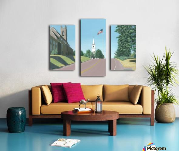 Church Hill Road - Newtown Scenes 12X16 Canvas print