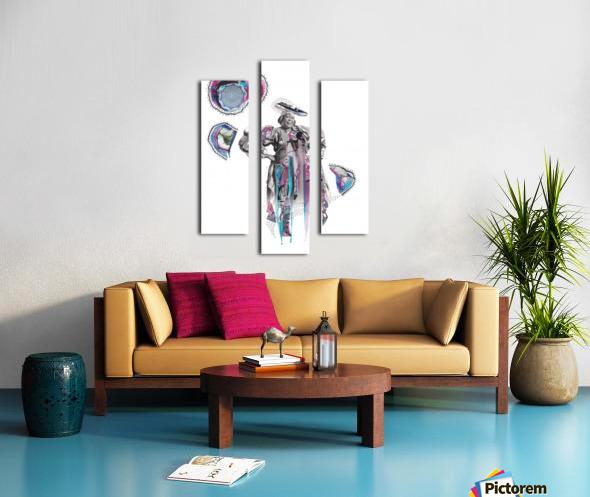 Herero Woman 6 Impression sur toile