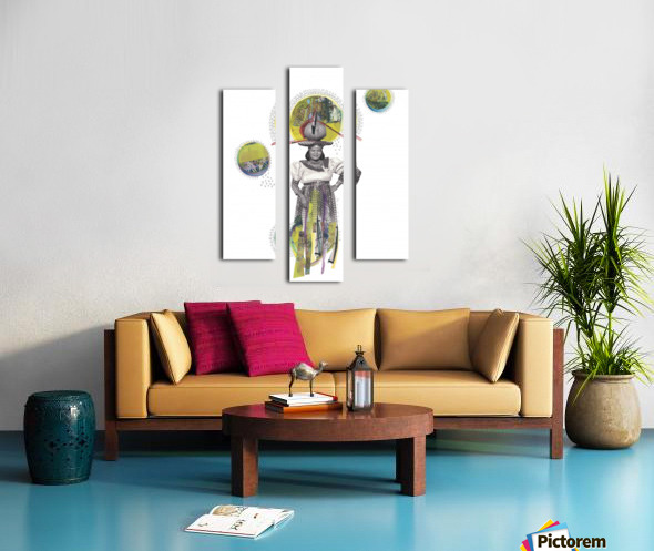 Herero Woman 4 Canvas print