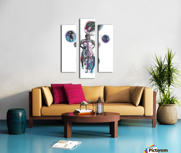 Herero Woman 3 Canvas print