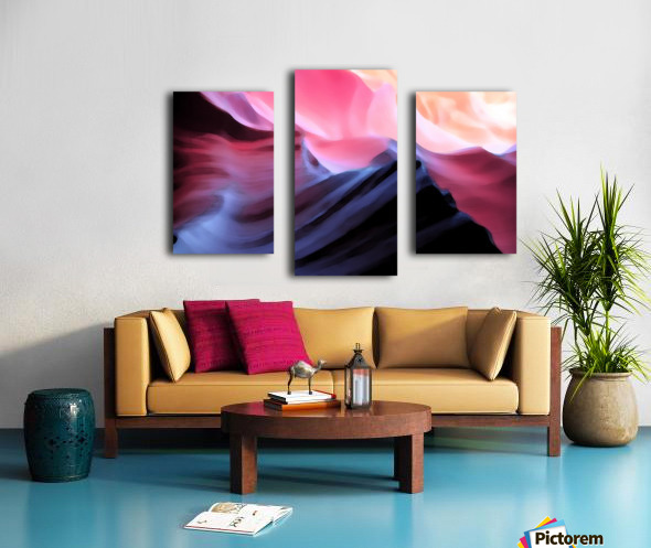 Blue Canyon Canvas print