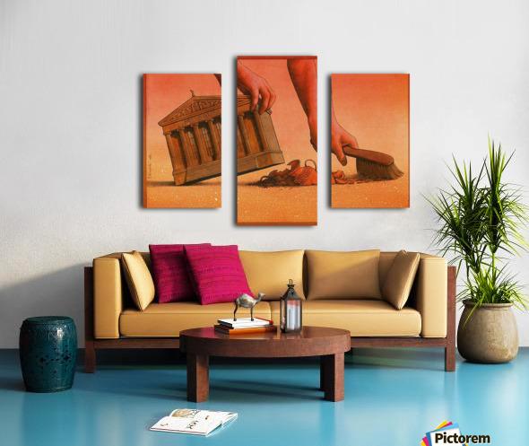 PawelKuczynski40 Canvas print