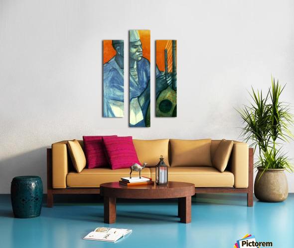 Griot Canvas print