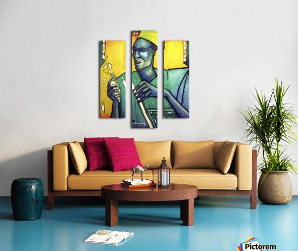 Tisserand Impression sur toile