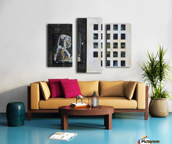 Wired life Impression sur toile