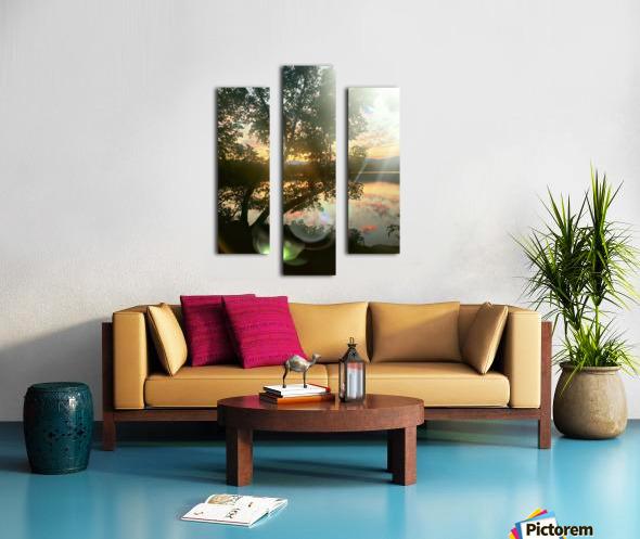 Stunning sunset Canvas print