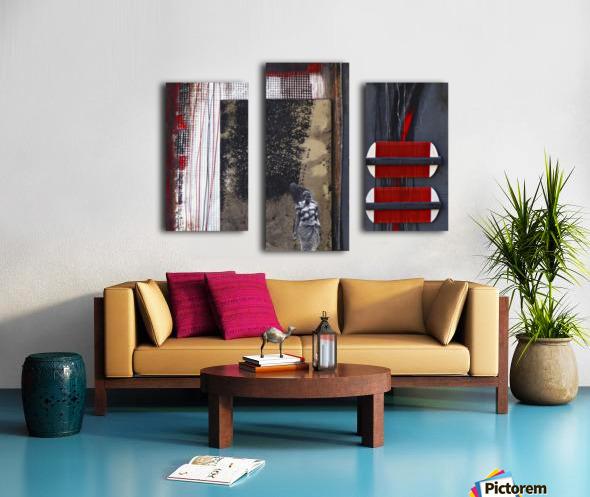 Komb 3 Impression sur toile