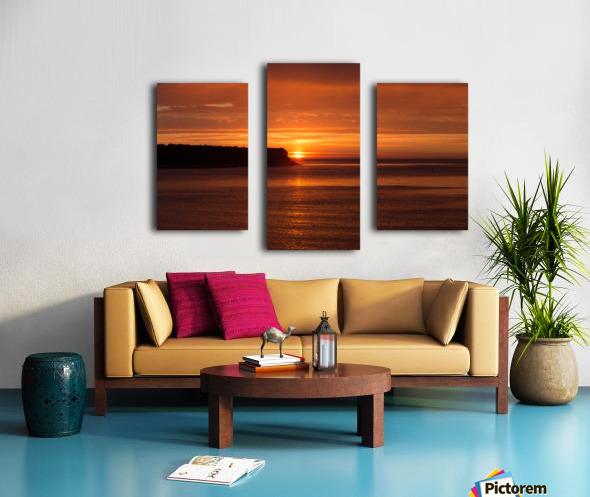 Orange Sunshine Canvas print