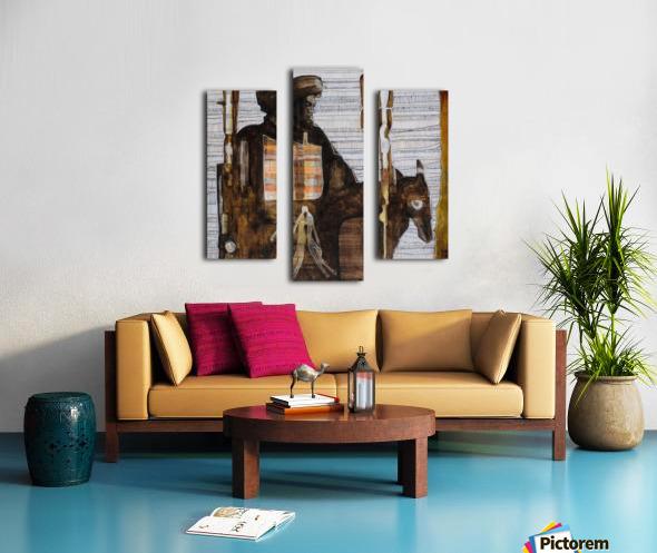 Shadow horserider 2 Impression sur toile