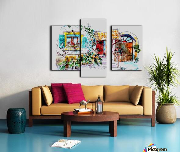 PTS - My House Canvas print