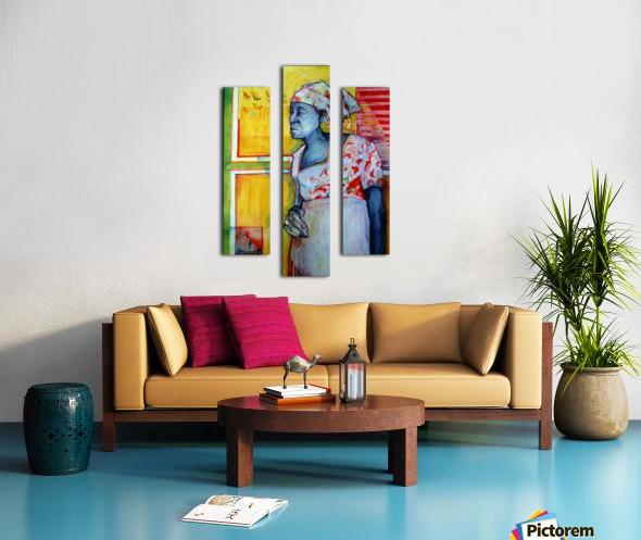 The wait Canvas print