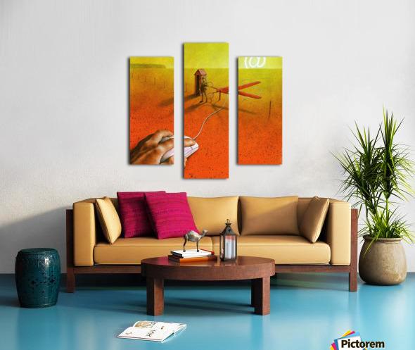 PawelKuczynski63 Canvas print