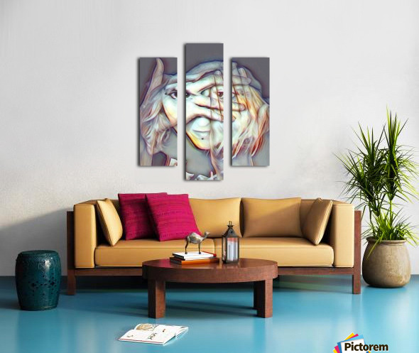 Creative Portrait Canvas print