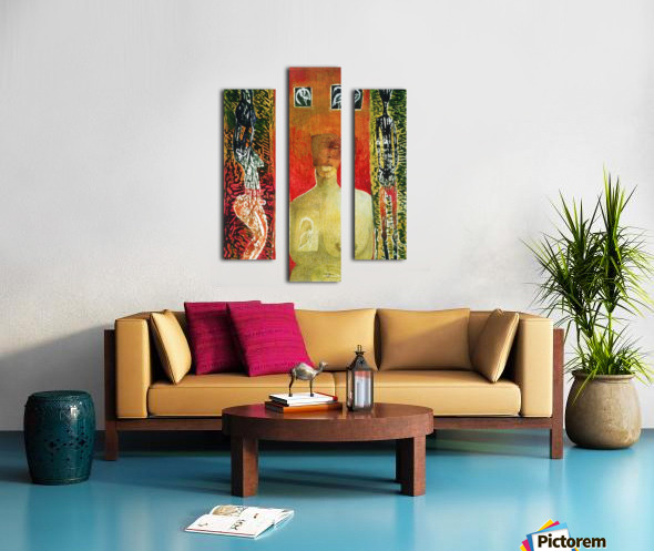 silence Impression sur toile
