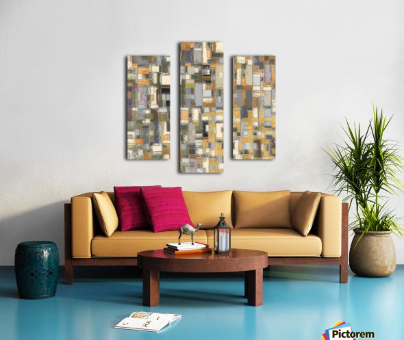 STAGE chrome yellow Canvas print