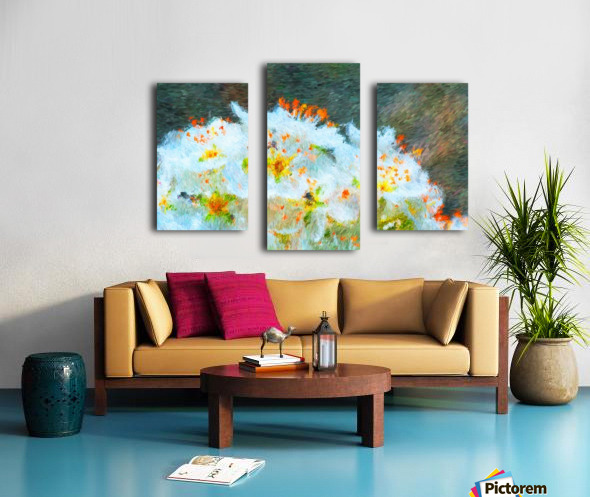 Blossom In A Storm Canvas print