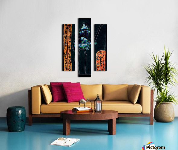 bck Kamel2 Canvas print