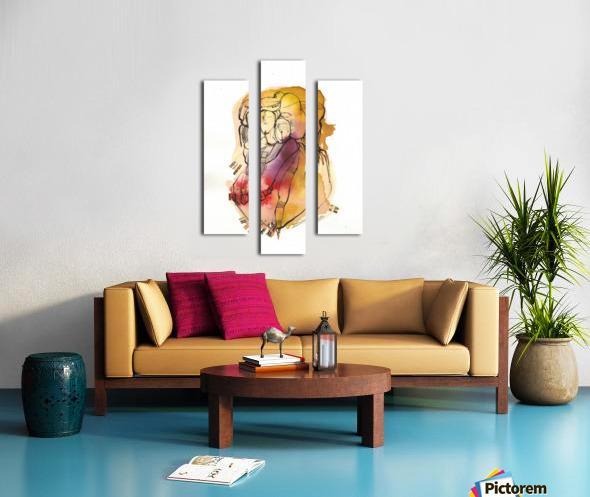 Kreol maghribia_1 Canvas print