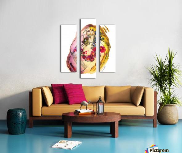 Kreol maghribia_3 Canvas print