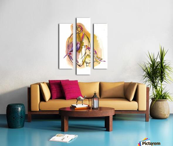 Kreol maghribia_6 Canvas print